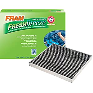 FRAM CF10133 Fresh Breeze Cabin Air Filter with Arm & Hammer