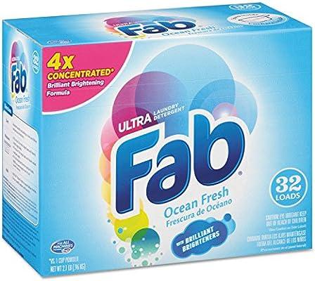 Ajax 36212 2 x detergente en polvo, Ocean Breeze, 2.1lb caja, 4 ...