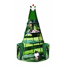 Teepee Outdoor Cat Enclosure - Green