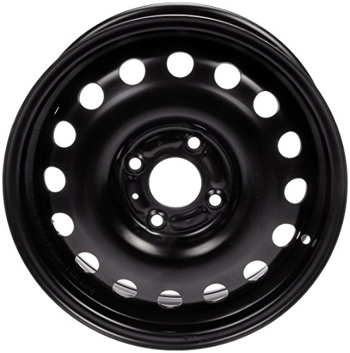 Steel Wheel Rim - Dorman Steel Wheel with Black Painted Finish (15x6