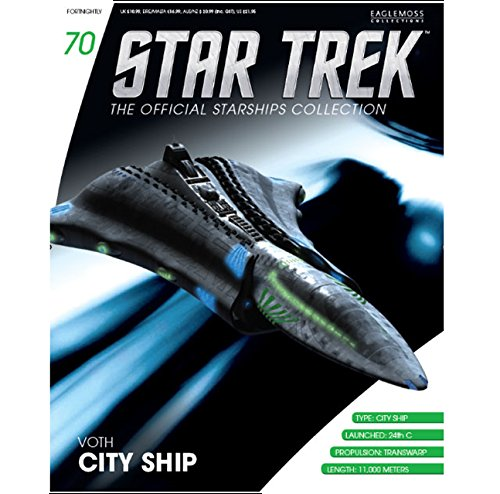 Sammlung von Raumschiffen Star Trek Starships Collection N/º 70 Voth City Ship