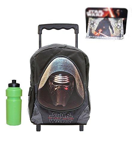 - Star Wars Rolling Backpack with Bonus Wallet & Bottle