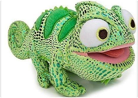 Amazon Com Disney Tangled 6 Inch Plush Figure Chameleon Pascal Green Toys Games