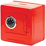 Frontier safe - steel safe with combination lock (blue, black or red)