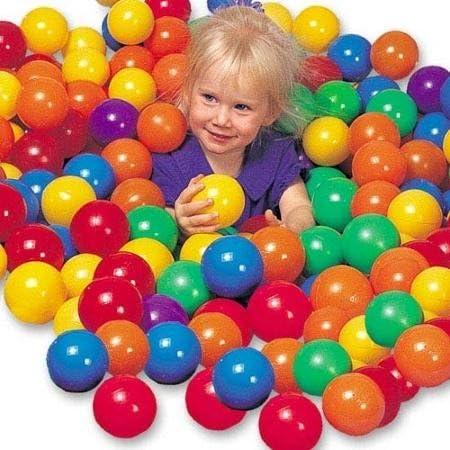 Rivenbert 50 Pelotas , Bolas de Colores niños Juguetes para bebés ...