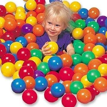 DeliaWinterfel 50 Pelotas , Bolas de Colores niños Juguetes para ...