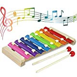 CACA Wooden Xylophone for Kids
