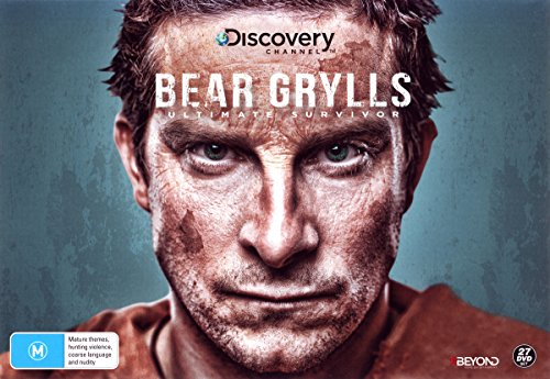 Bear Grylls - Ultimate Survivor (Collector's Gift Set) - 27-DVD Box Set ( Man vs Wild (Seasons 1 - 6) / Worst Case Scenario / Escape From Hell ) ( Bea [ NON-USA FORMAT, PAL, Reg.4 Import - Australia ] by Force Video