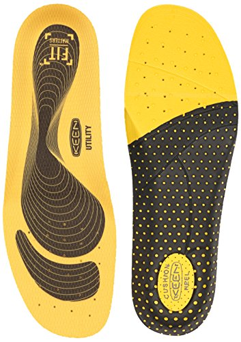 Keen Utility Utility K-10 Replacement Insole, Yellow, Small ()