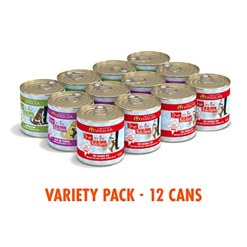 Weruva Dogs In The Kitchen Grain-Free Wet Dog Food Cans Pouches