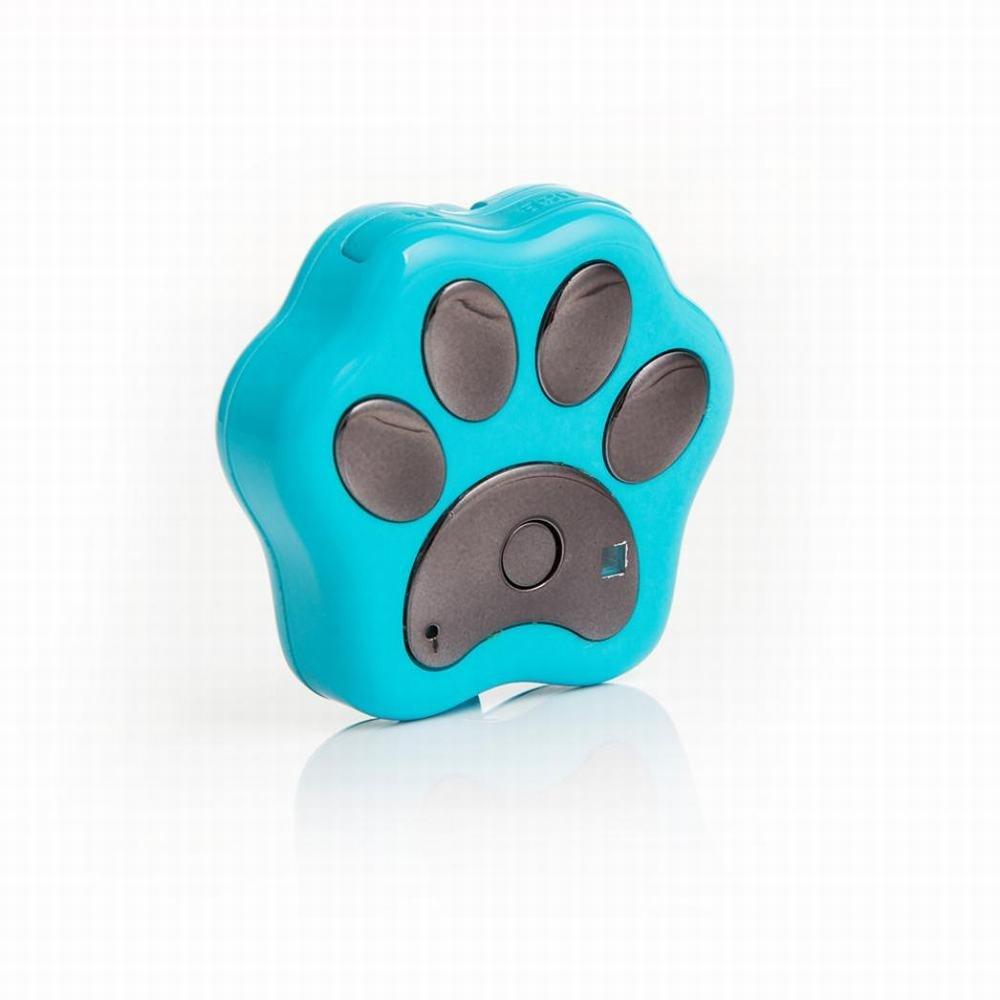 Bolayu Dog Cat Collar Locator Smart WiFi Pet GPS Tracker Remote Wireless Finder (Blue)