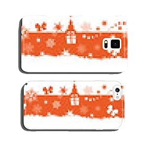 Seamless winter, Christmas border cell phone cover case Samsung S5