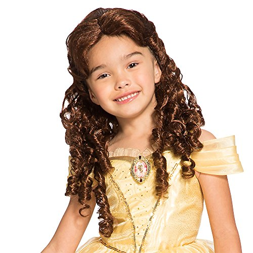 Disney Kids Belle Costume Wig]()