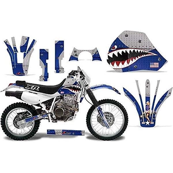 Dirt Bike Graphics Kit Decal Wrap For Honda CRF50 CRF 50 2004-2013 WARHAWK BLUE