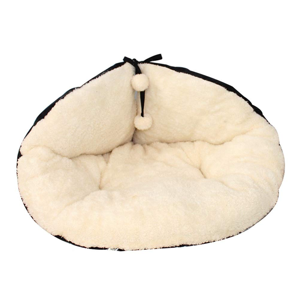 M GCHOME Dog bed Cat Sleeping Cat Food Bed Dog Cushion, Washable Keep Warm Cat Sleeping Bag Nest Suitable Cat Puppy Pet House (Size   M)