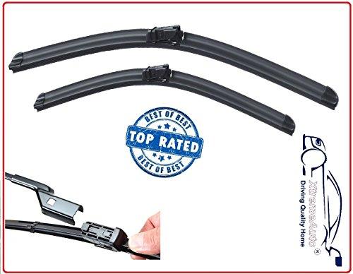 AUTO VIEW B28-B28L Windscreen Wiper Blades Front Set