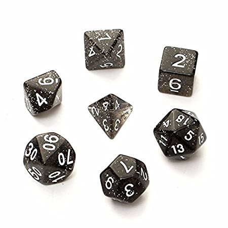 Purple Blue iMagitek Polyhedral 7-Die Series Dungeons Dragons DND RPG MTG Table Games Dice Set