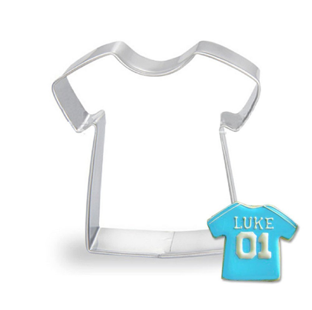 Hosaire Cookie Cutter Cute T-shirt Cutters Mould Baking Biscuit Moulds Cake Decorating Tools