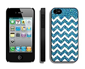 Cute Diy For Iphone 4/4s Case Cover caGreen Striped Black phone Cases, ...