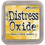 Ranger Tim Holtz Distress Oxide Ink Pad - Fossilized Amber