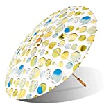 Lily-Lark Fun Circles UV protection sun parasol, rated UPF 50+