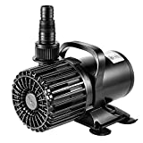 VIVOSUN 4500GPH Submersible Water Pump 220W Ultra Quiet Pump with 20.3ft Power Cord High Lift for Pond Waterfall Fish Tank Statuary Hydroponic