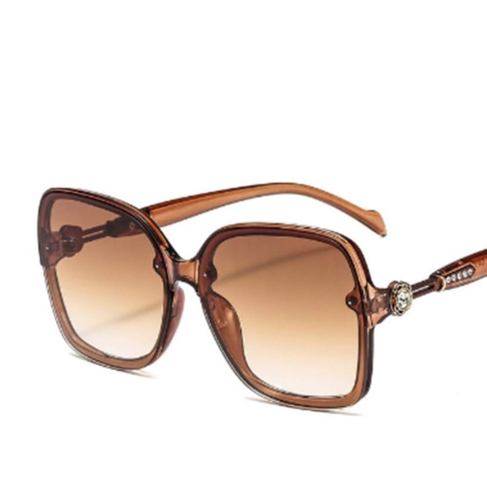 LONYENMA Fashion Oversized Vintage for Women Sqaure Sunglass Retro Female Driving Outdoor Shopping Party Eyewear
