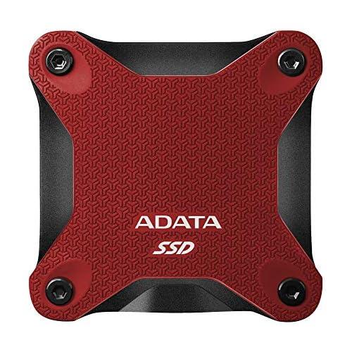 chollos oferta descuentos barato ADATA 480GB SD600Q Unidad Externa de Estado sólido USB 3 1 Rojo