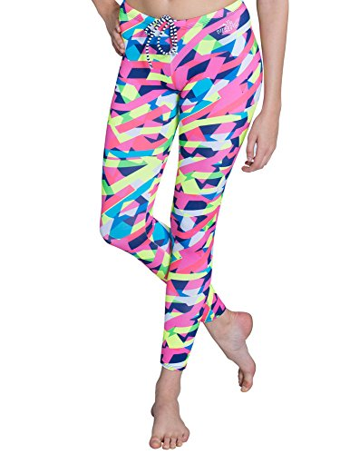 Dolfin Uglies Drag Swim Tights for Women | Swimming Pant Capris (XL, Sprinter) ()