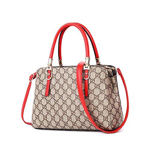 Aoligei Sac pour femme Fashion treillis, sac pour sac à main femme E