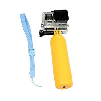 Flotador para GoPro mango rosca flotante bobber boya surf Hero3 Hero3+ Hero4 Hero: Amazon.es: Electrónica