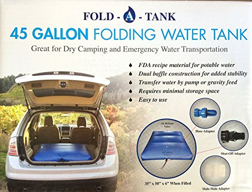 45 Gallon Fresh Water Folding Storage Tank