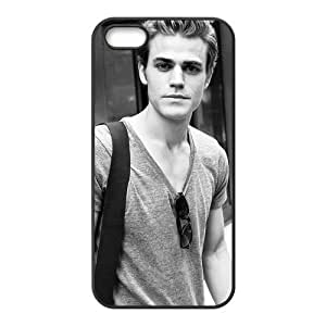 Custom Popular Star Paul Wesley Design TPU Protective cover For Iphone 5 5s iphone5-NY1378