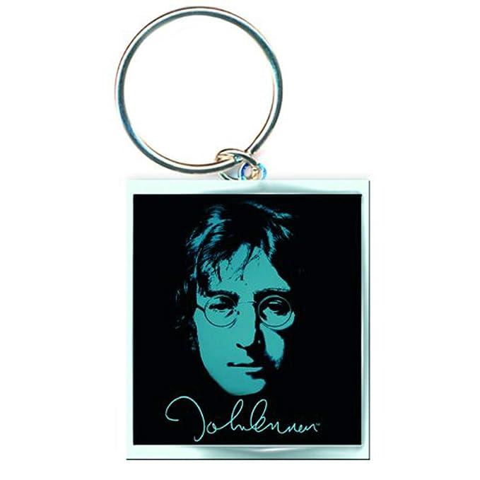 John Lennon Imagine The Beatles llavero con licencia: Amazon ...