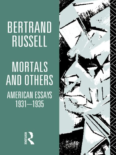 1931 Cover (Mortals and Others, Volume I: American Essays 1931-1935 (Bertrand Russell Paperbacks))