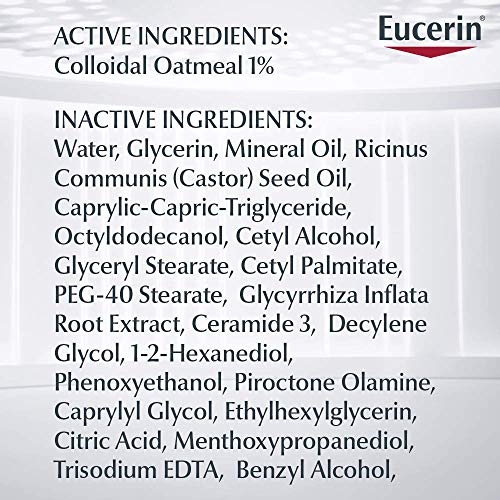51UiZeZejvL - Eucerin Baby Eczema Relief Body Cream - Steroid & Fragrance Free For 3+ Months Of Age - 5 Oz. Tube
