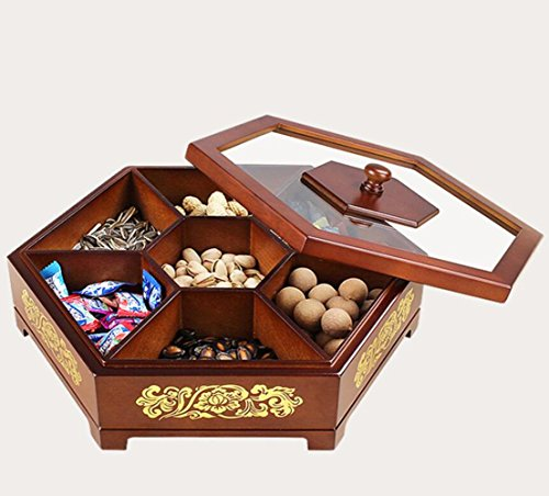 W&P Solid candy candy box fruit plate dry fruit box wedding candy box