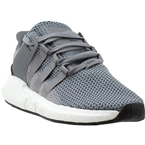 adidas Originals Men's EQT Support 93/17 Running Shoe, Grey/White, 11.5 M US