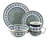Product review for Polish Pottery Maia 4 Piece Dinner Set