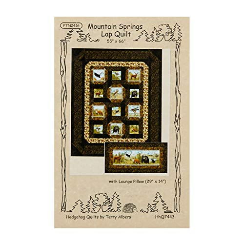 (Northcott Mountain Springs Quilt and Pillow Pattern)
