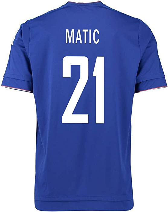 quality design b78c4 6ed6e Amazon.com: Adidas Matic #21 Chelsea Home Soccer Jersey 2015 ...