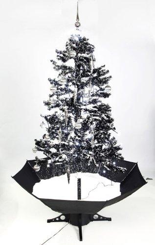 Smart Buy Self Snowing Christmas Tree Black 140CM: Amazon.co.uk: Kitchen &  Home - Smart Buy Self Snowing Christmas Tree Black 140CM: Amazon.co.uk
