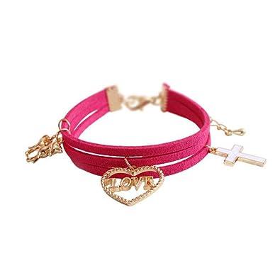 Plusieurs Couches Licorne Bracelet Hollow Bracelet Bracelet pour femme Fille  Enfants