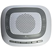 myBaby SoundSpa White Noise Machine, Plays 6 Soothing Sounds, Adjustable Volume Control, Lightweight, Perfect for Travel, Baby Soother, MYB-S205