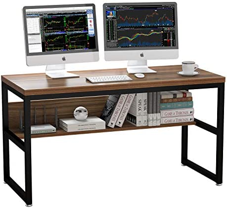 ELEGANT 55″ Gaming Computer Desk