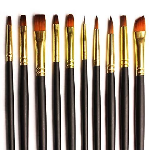 BEST QUALITY: Brush Set 10 Bespoke Gold