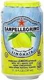 San Pellegrino Sparkling Beverage, Limonata, 11.15 oz Cans-6 ct, 4 pk