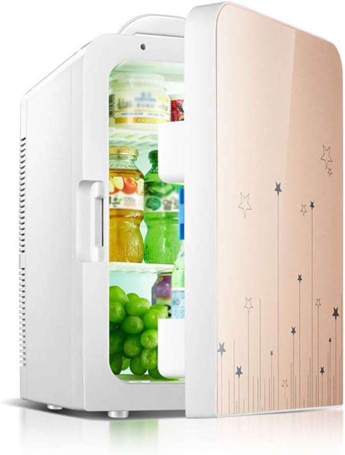 ミニカー冷蔵庫ポータブル車の冷蔵庫断熱クーラーヒーター20 lミニ冷蔵庫クーラー車飲料ボックスクーラー用遠征、寝室、オフィスまたは寮クーラーボックス、B