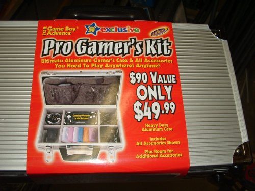 Toys R Us Exclusive Pro Gamers Case Game Boy Advance Aluminum Pro Gamers Kit