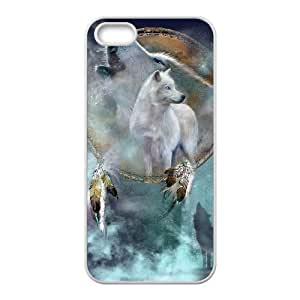 Customized case Of Wolf Howling Hard Case For Iphone 6 Plus 5.5 Inch Cover